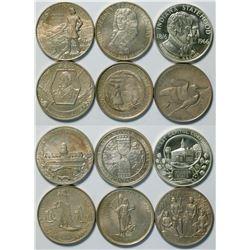 Heraldic Art Silver Statehood Medals  (112911)