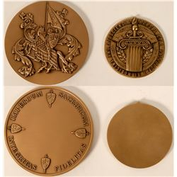 Medallic Art Company Production Sample Medallions  (110986)