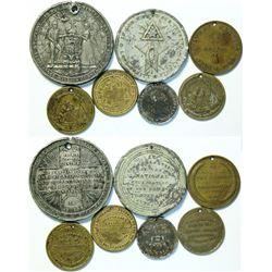 Temperance Medals  (112920)