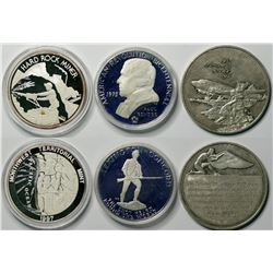 Three Silver Medals  (114310)
