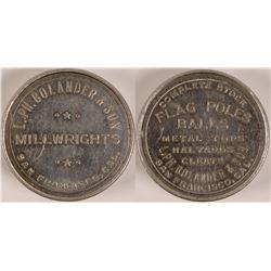 Coin Paperweight Ingot  (110593)
