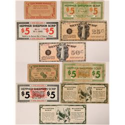 Oregon/Washington Scrip (currency)  (112455)
