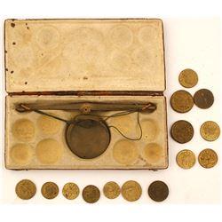 Coin Scale Counterfeit Detector Book  (61334)