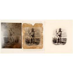 Native American Printers Plate  (76449)