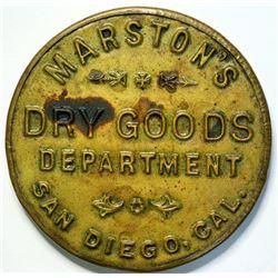 SHELL CARD / B-CA-150 /  CA, San Diego / Marston's / Mirror  (111504)