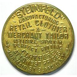 SHELL CARD / B-NY-2080 / NY, Buffalo  / Steinfeld  / Mirror  (111519)