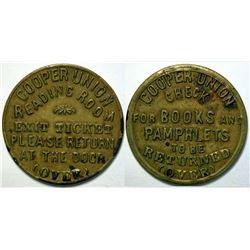 SHELL CARD / B-NY-4200/ NY, New York / Cooper Union  (111473)