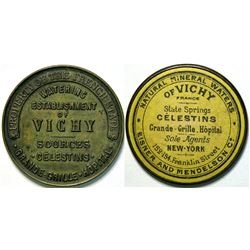 SHELL CARD / B-NY-4900 / NY, New York / Eisner & Mendelson Co. / Vichy Mineral Water   (111477)