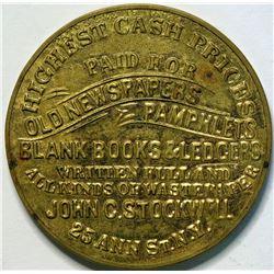 SHELL CARD / B-NY-7800/ NY, New York / John C. Stockwell/ Mirror  (111476)