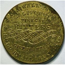 SHELL CARD / B-NY-8280 / NY, New York /J. Walker's California Vinegar Bitters / Mirror  (111502)