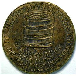 SHELL CARD / B-NY-8360 / NY, N.Y. / M.B. Washburn, Hebbard Car Spring Co. /Mirror  (111499)