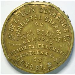SHELL CARD / Unlisted / NY, New York / Dr. T. Felix Couraud's Oriental Cream / Mirror  (111525)