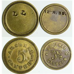 Benecia Arsenal Token Pair  (114053)