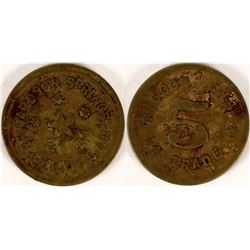 Richardson Springs, Chico, California Token  (112848)