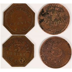 Mint Saloon Tokens  (112696)