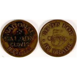 National Saloon Token  (112697)