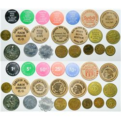 El Dorado County Tokens  (112997)