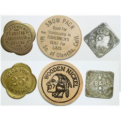 Inyo County Tokens  (112995)