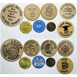 Marin County Tokens  (112994)