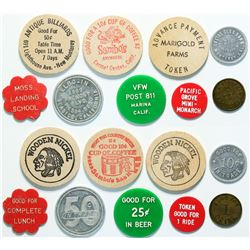 Monterey County Tokens  (114304)