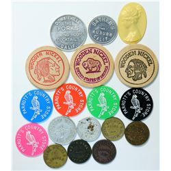 Placer/Sierra/Plumas Counties Token Collection  (112730)