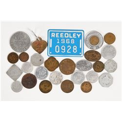 Reedley Token Collection  (109954)