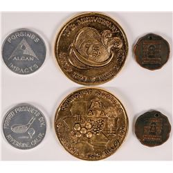 Riverside Tokens  (112929)