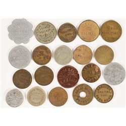Salinas, Cal. Token Collection (20)  (112684)