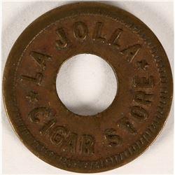 La Jolla Cigar Store, La Jolla, Cal Token  (112825)