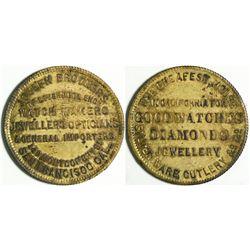 Joseph Brothers, 149 Montgomery, Store Card  (114088)