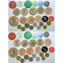 San Mateo County tokens  (112509)