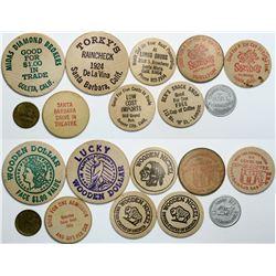 Santa Barbara County tokens  (112508)