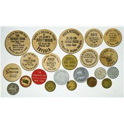 Santa Clara County tokens  (112983)