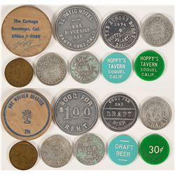 Santa Cruz and Area Token Group (9)  (112812)