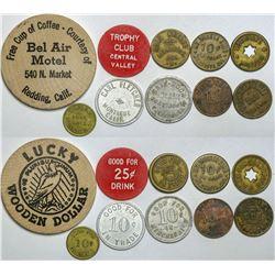 Shasta/Siskiyou Counties Token Collection  (112733)