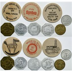 Solano and Yolo Counties tokens  (112505)