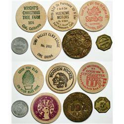 Ventura County tokens  (112982)