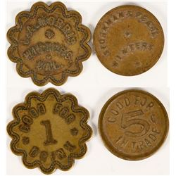 2 Different Tokens from Winters, California  (112883)