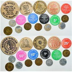 Yuba County tokens  (112998)