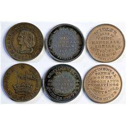 William Idler Store Cards (3)  (114133)