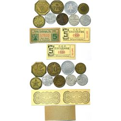 CCC Camp Token Collection  (112903)