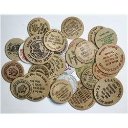 LA County Wooden Nickel Collection  (112726)