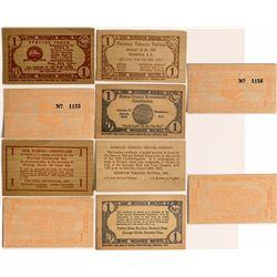 North/South Carolina wood scrip  (112459)