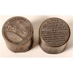 Apollo Space Flight Medal Dies (2)  (112161)