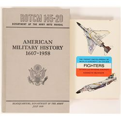 Military History Books (2)  (108222)
