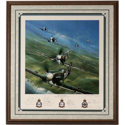 Eagle Squadrons of the RAF, Signed by Surviving Pilots  (114392)