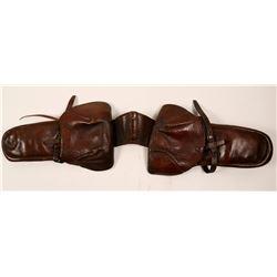 Pommel Bags, Leather, Vintage  (104928)