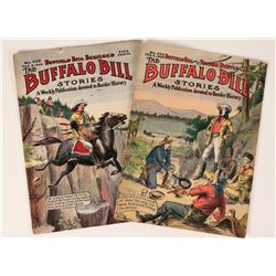 Two Copies of Buffalo Bill Stories, 1909  (112665)