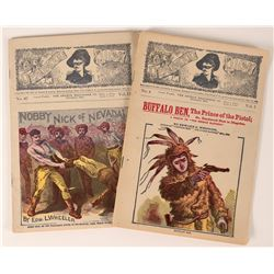 The Deadwood Dick Western Adventures Periodicals (2), 1898-99  (112664)