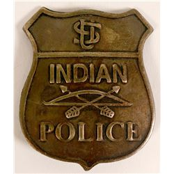 Old West U.S. Indian Police badge   (112753)